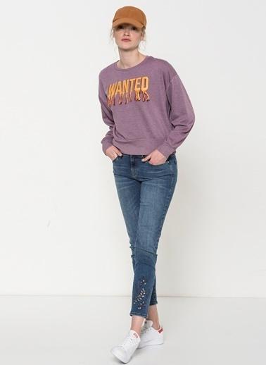 Mavi Sweatshirt Lila